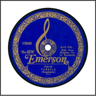 Emerson Record Label 1923