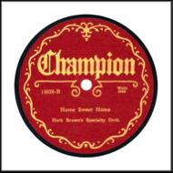 Champion Record Label: 1925-1927.