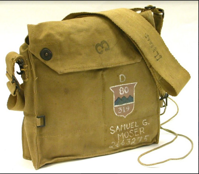 80th Gas Mask Bag