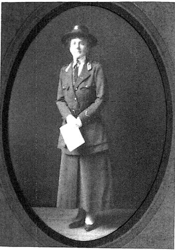 WW1 US Red Cross Uniform