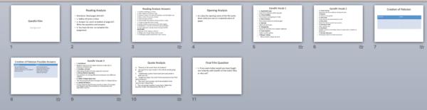 Gandhi PowerPoint Activity